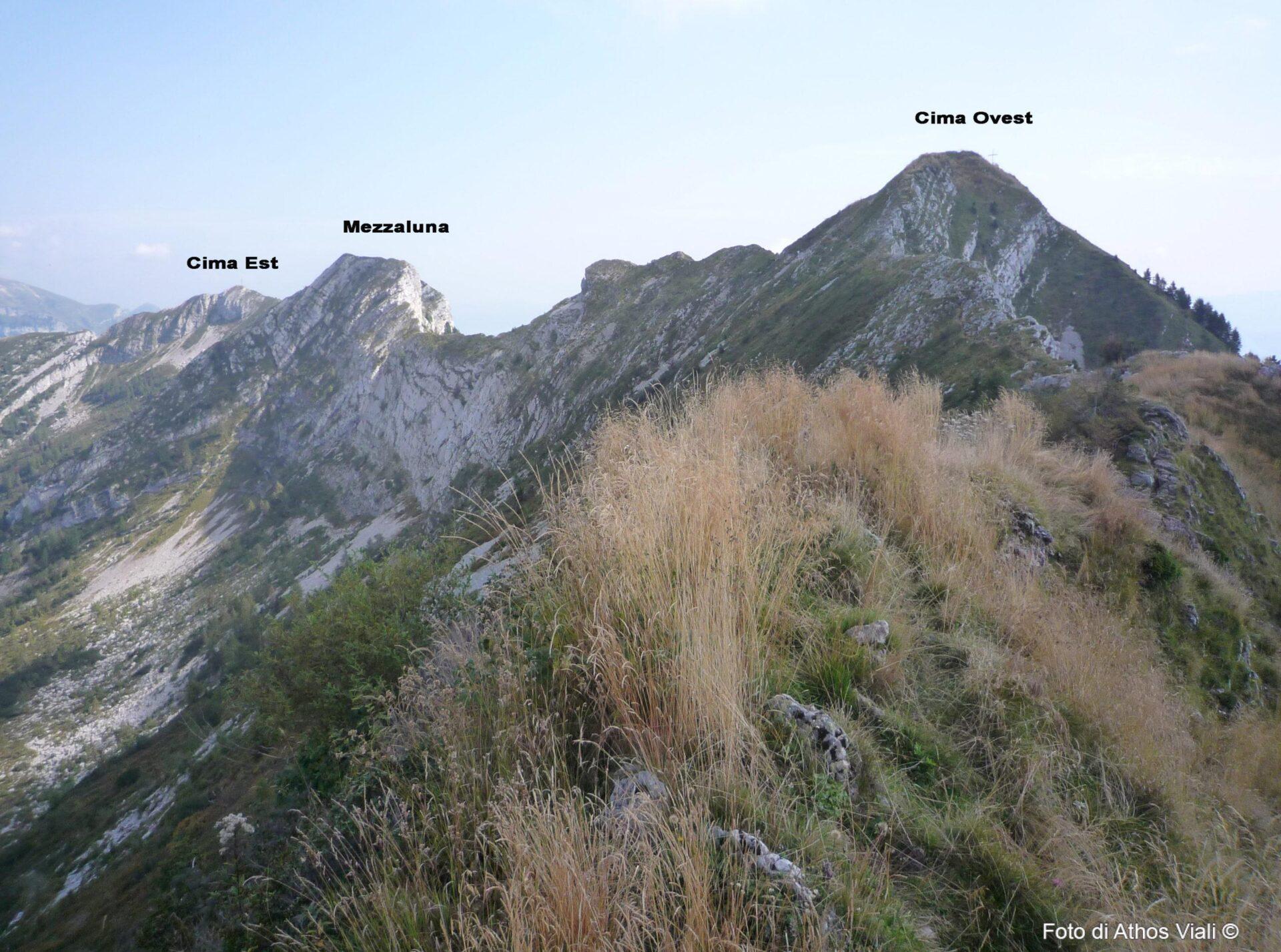 Tre cime del Coppolo
