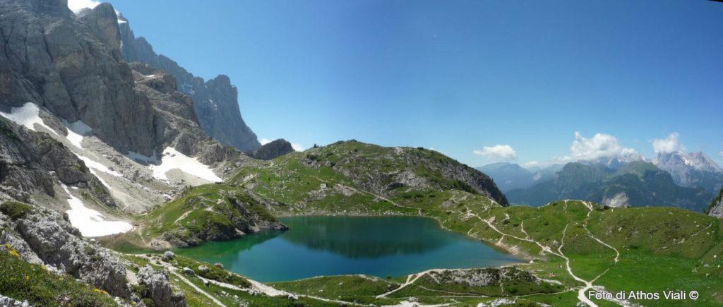 Lago da forcella Coldai