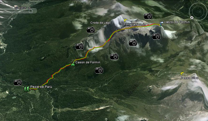 Percorso GPS