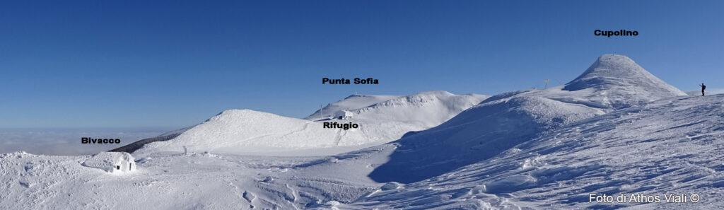 Panorama verso sud-est