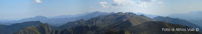 Panorama dal Marmagna