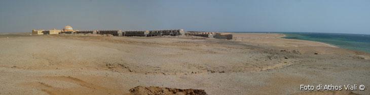Villaggio turistico in costruzione