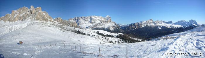 Panorama dal passo Sief