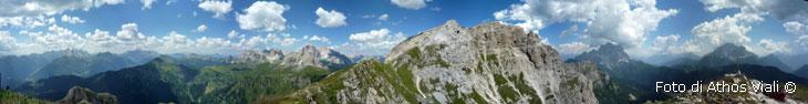 Panorama da cima Verdal